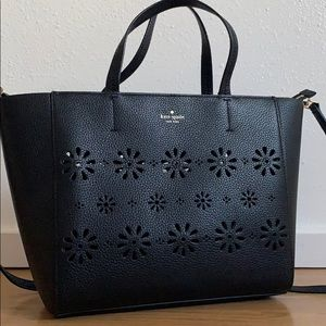 Kate Spade Elisabeth Faye Leather Large Satchel